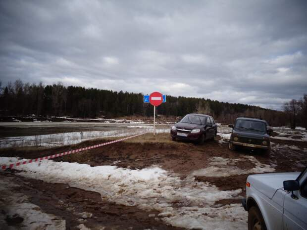 В Вавожском районе Удмуртии ушел под воду мост