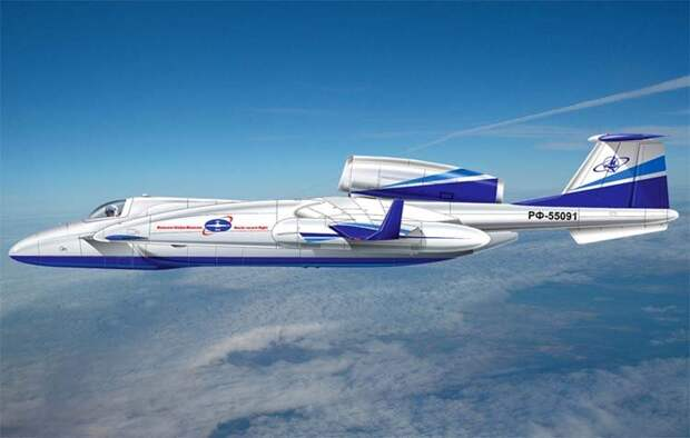 Экспериментальный самолет для дальних перелетов М-55РД