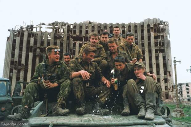 Чечня, 1995, фотографии Кшиштофа Миллера 1995, фото, чечня