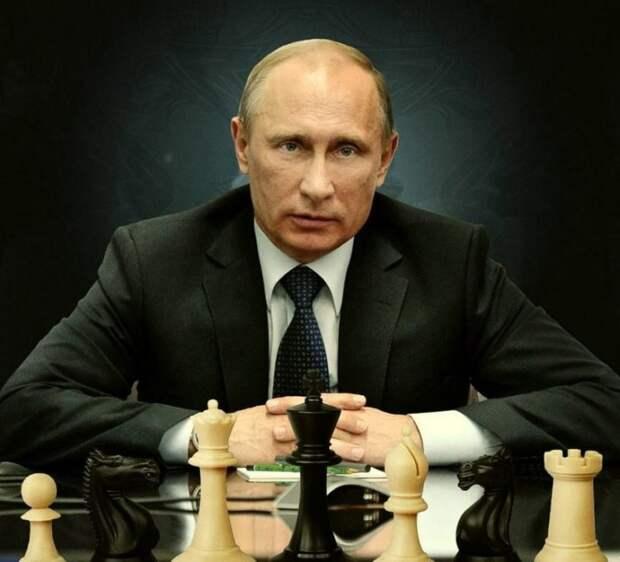 Гроссмейстер геополитики Владимир Путин вновь загнал Запад в тупик