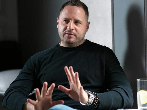 Обвиняемый в измене Андрей Ермак
