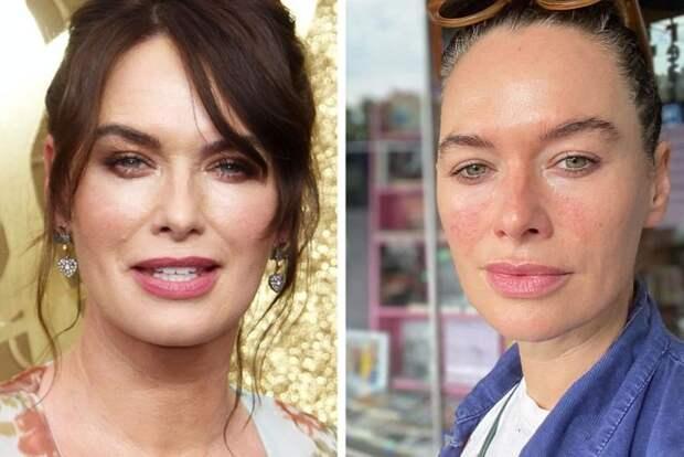 Звёзды, которые не стесняются показать себя без макияжа