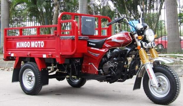 Российский «тук-тук»: мото-грузовик из Саранска