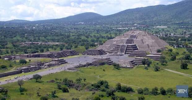 Современная деятельность повторяет контуры древнего Теотиуакана