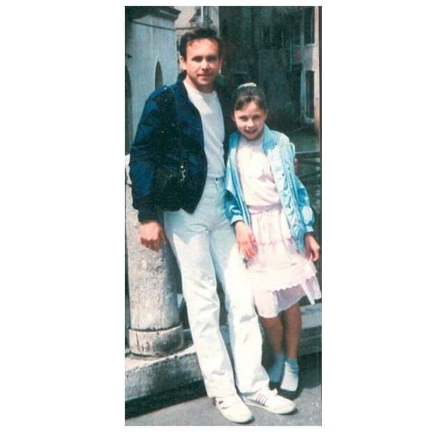 Борис Бархатов с дочерью