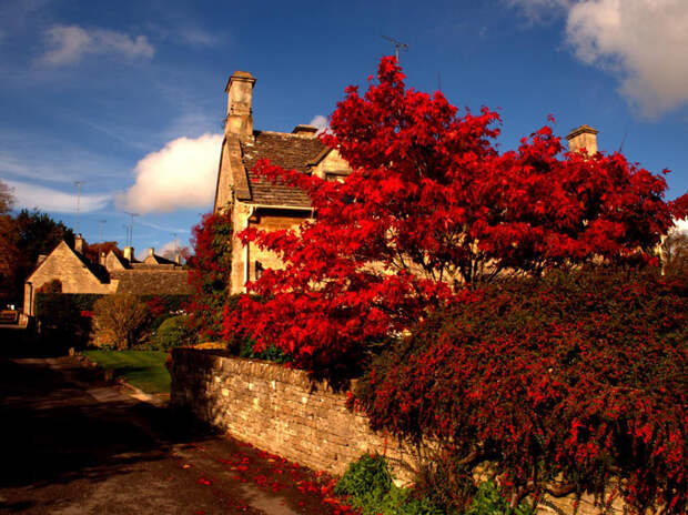 Английская деревушка Бибури - место невероятной красоты