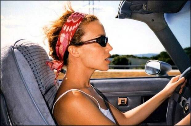 Автоледи или женщина за рулем