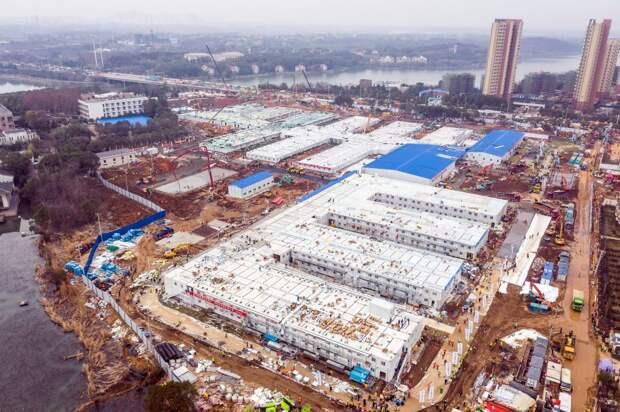 Строительство больниц в Китае