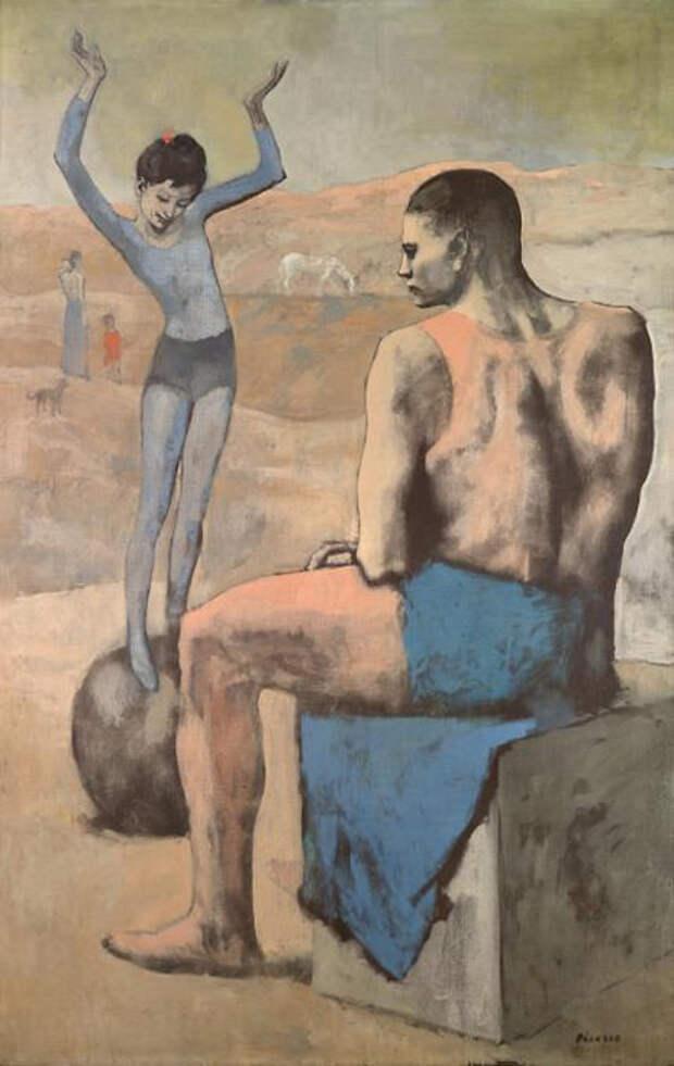 Трагическая история с картины «Девочка на шаре» Пабло Пикассо