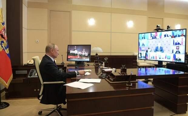 «Выбора сейчас нет». Заявления Путина по ситуации с коронавирусом. Шнуров ответил Президенту.