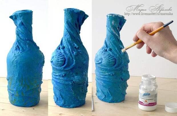 Бутылка из любимого носка любимого мужчины!