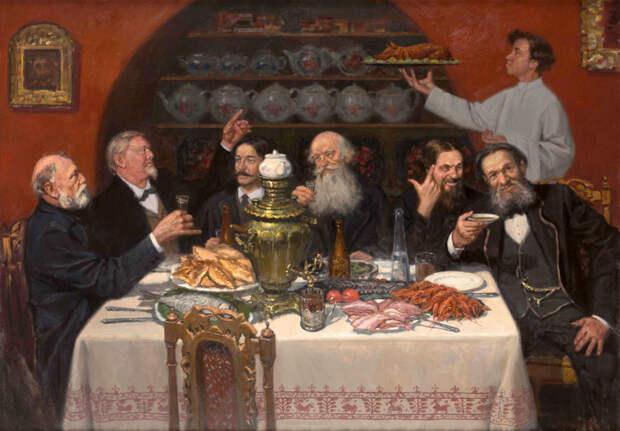 Метать всё на стол! Кулинарные пристрастия трех выдающихся российских гурманов