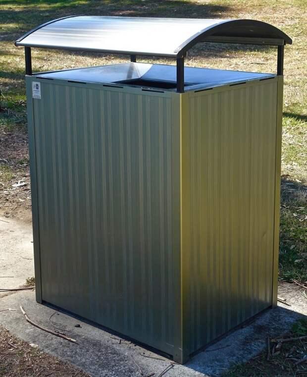 С площадки у дома на Дмитровке вывезен временный мусорный бункер