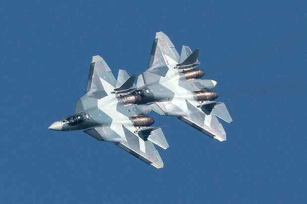СМИ: Первый серийный Су-57 передадут Минобороны РФ в ноябре