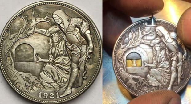 Екатеринбуржец дает новую жизнь старым монетам