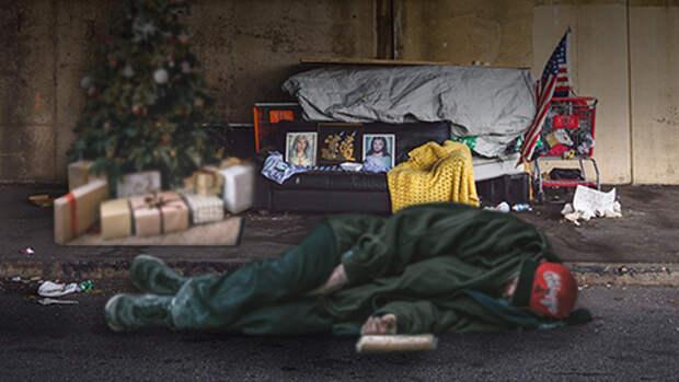 Жители улиц. Как бездомные Лондона встречают Рождество