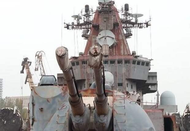 Пустят на иголки: принято решение по крейсеру «Украина»
