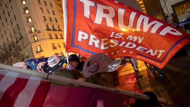 Осада и штурм Капитолия. Трамп и Байден пожинают бурю, посеяв ветер