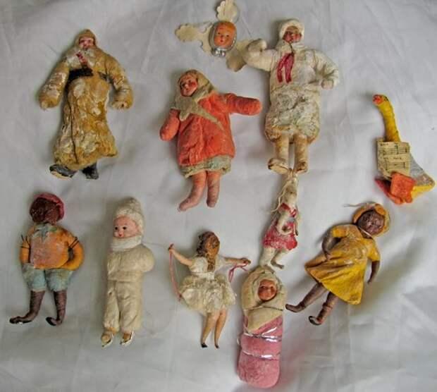 Старые ёлочные игрушки. Помните?