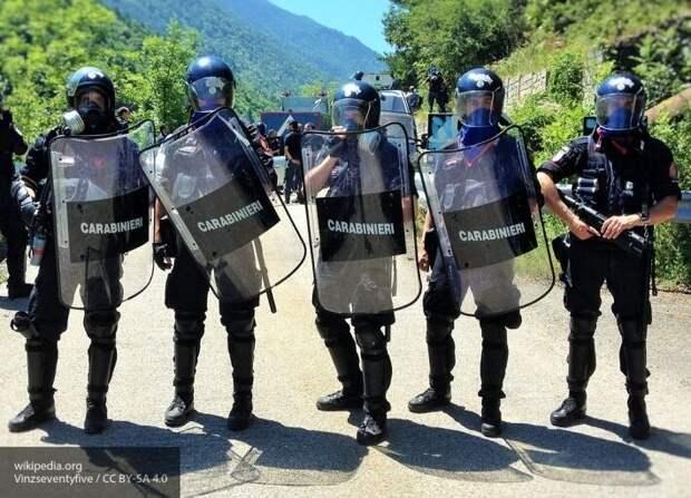 Украинку оштрафовали в Италии за подпольную торговлю масками