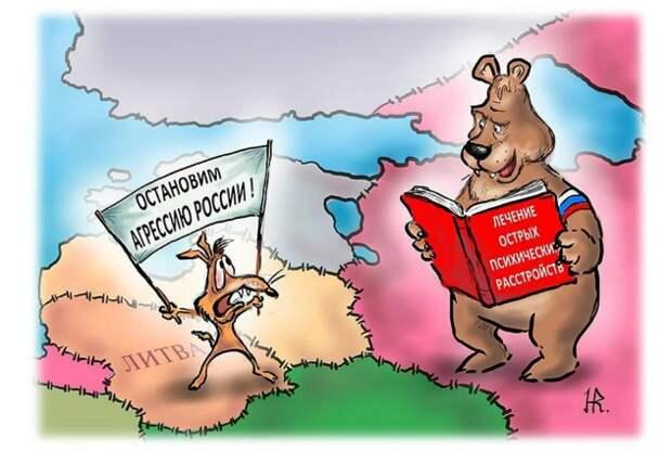 Литва – очередная жертва дружбы с гегемоном демократии