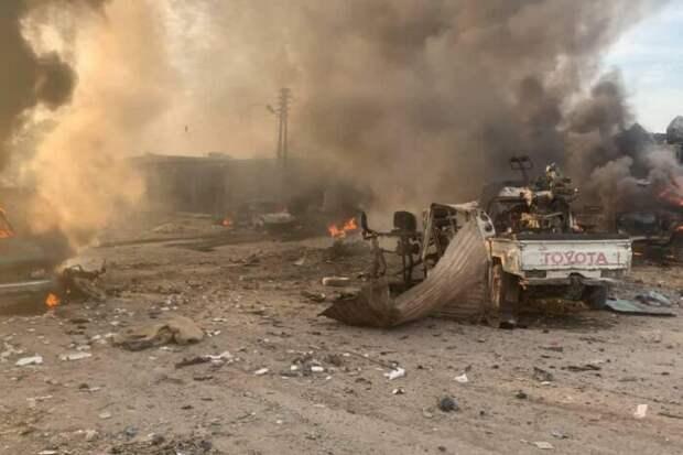 Россия нанесла по турецким боевикам в Идлибе точный удар «Ланцетом»