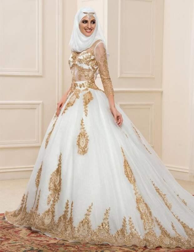 Традиционное свадебное платье