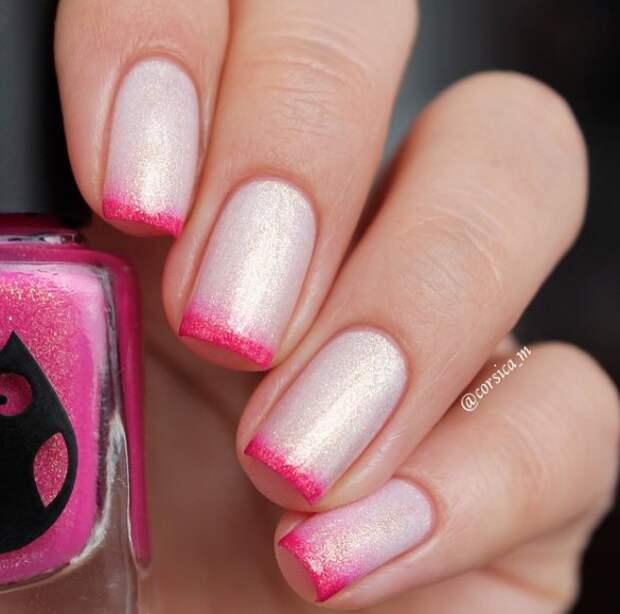 розовый френч фото 24