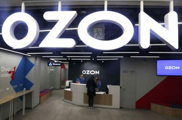 A view shows the pick-up point of the Ozon online retailer in Moscow, Russia March 16, 2020. REUTERS/Evgenia Novozhenina