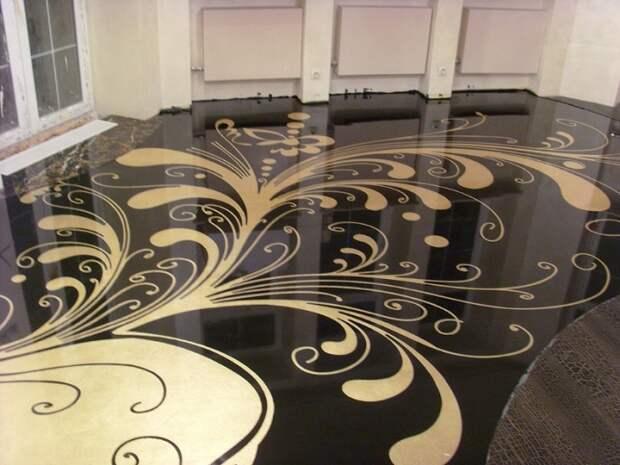 Наливной 3D-пол - красочная отделка, которая применима для любого типа помещения.