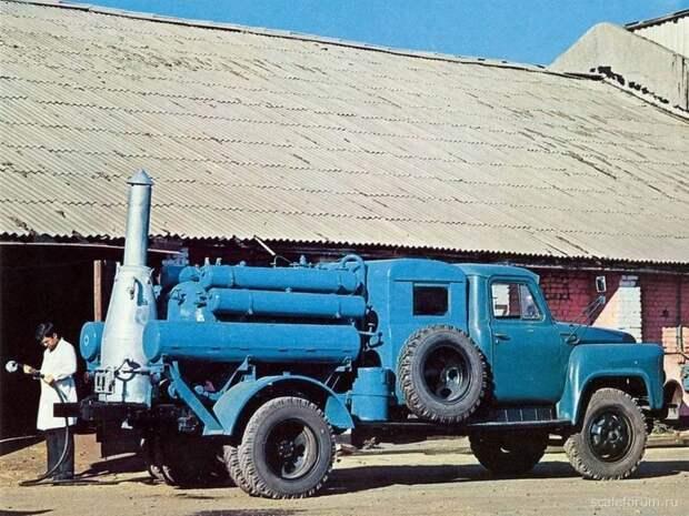 Дезинфекционная установка ДУК-1 на базе шасси ГАЗ-53А СССР, автомобили, советская техника, советские машины