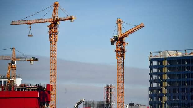 Строительство новых домов в Москве - РИА Новости, 1920, 20.04.2021