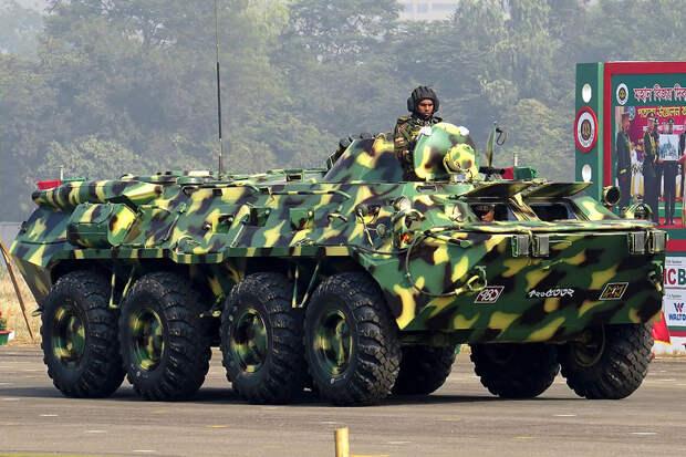 Российские БТР-80 пользуются популярностью в армии Бангладеш