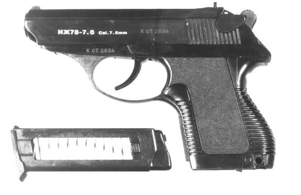 Травматический пистолет ИЖ 78 9т: история создания