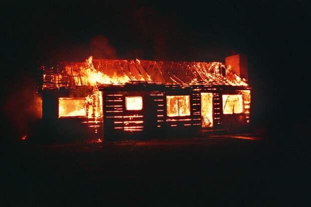 Пять человек стали жертвами пожара в одном из сел Удмуртии