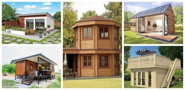 Маленькие дачные домики для постоянного проживания
