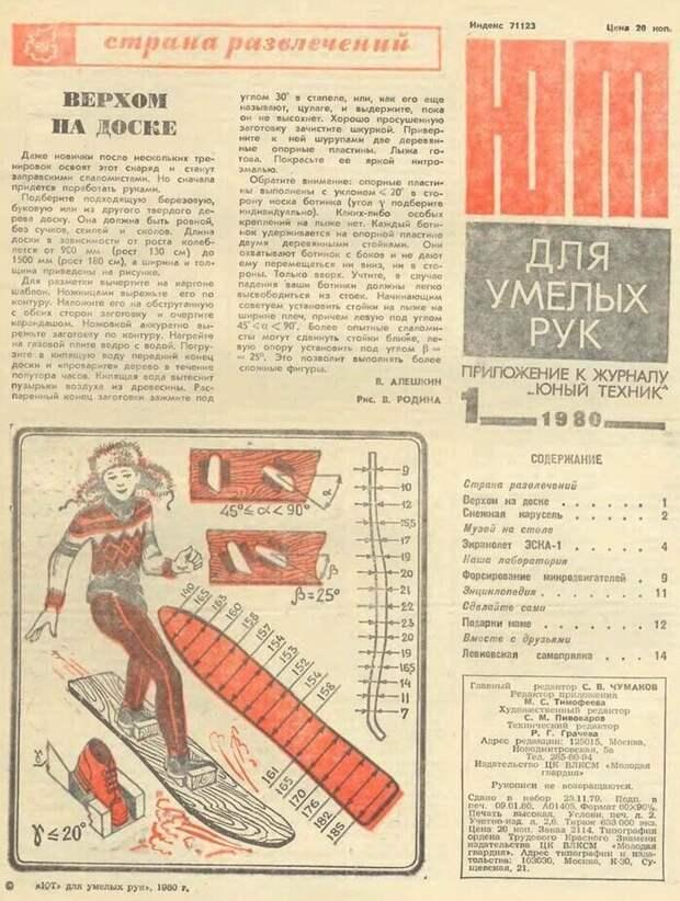 """Как советский журнал """"Юный техник"""" предугадывал будущее"""