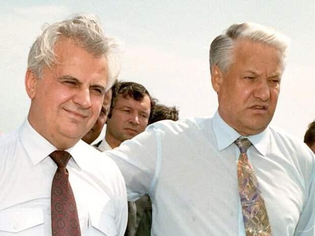 Во второй раз Крым подарил украинцам пьяный Ельцин история, крым, факты