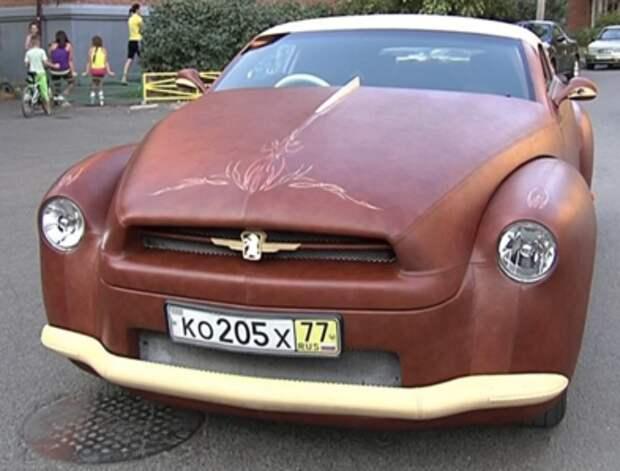 Продается «кожаный» автомобиль с меховым салоном. Его делали по заказу Березовского?