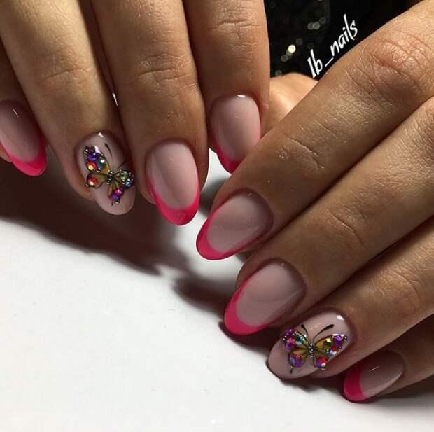 розовый френч фото 22