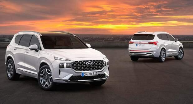 Компания Hyundai намерена активно продвигать новый кросс Santa Fe в РФ
