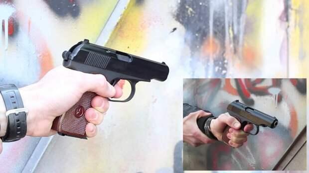 Пистолет сигнальный «Макаров МР-371»: оружие психологического воздействия