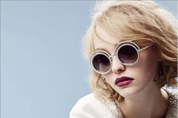 Круглые очки с двойной оправой