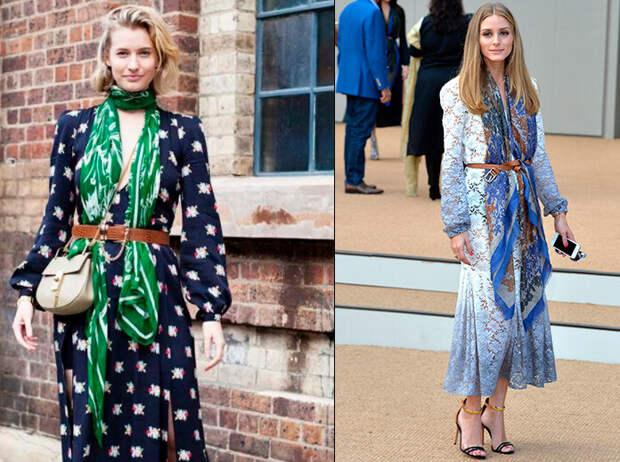 Современная женственность: как носить платок в наше время, и не добавить себе 10 лишних лет