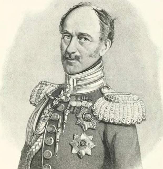 Это был государственный деятель - Александр Христофорович Бенкендорф