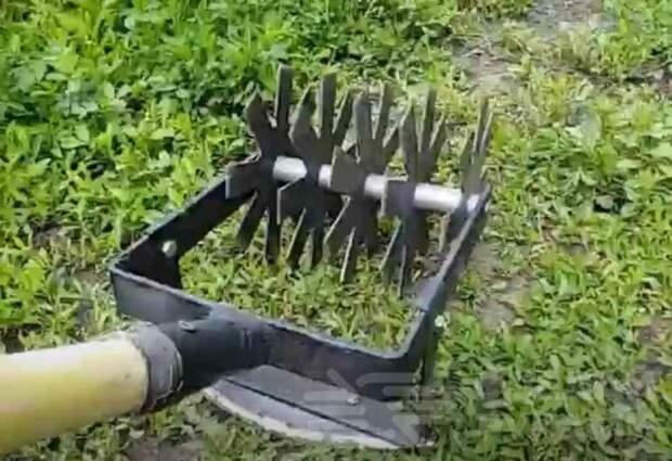 Идея для дачи: как самому сделать ручной рыхлитель почвы