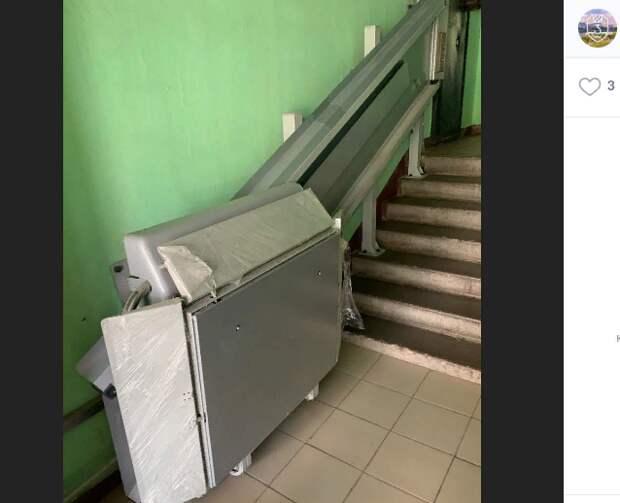 Новый пандус для инвалидов в доме на Полбина пока не передан на баланс — управа