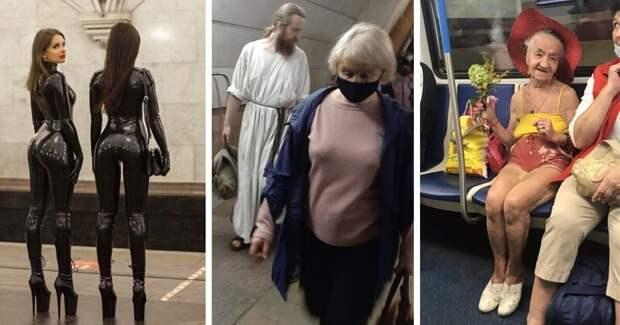 Модницы имодники метро Москвы, чьиобразы заставляют улыбаться
