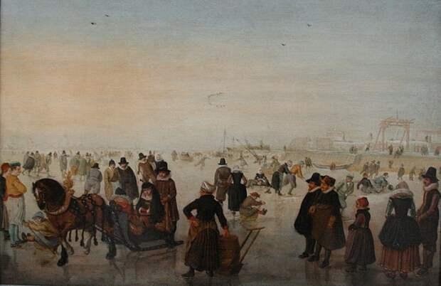 Почему глухонемой живописец позднего Cредневековья писал только зимние пейзажи: Хендрик Аверкамп