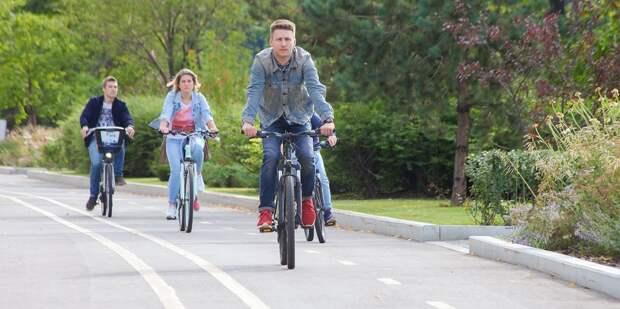 Велосезон на ВДНХ продлили до конца октября